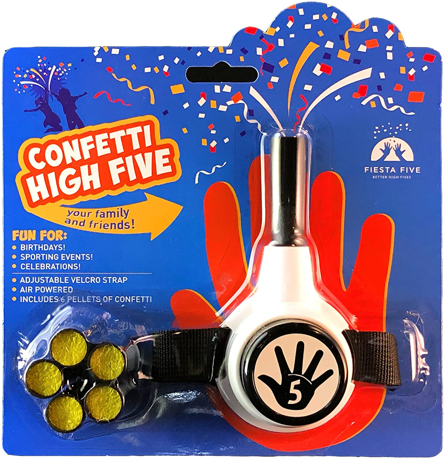 Confetti High Five HandHeld Toy Shooter