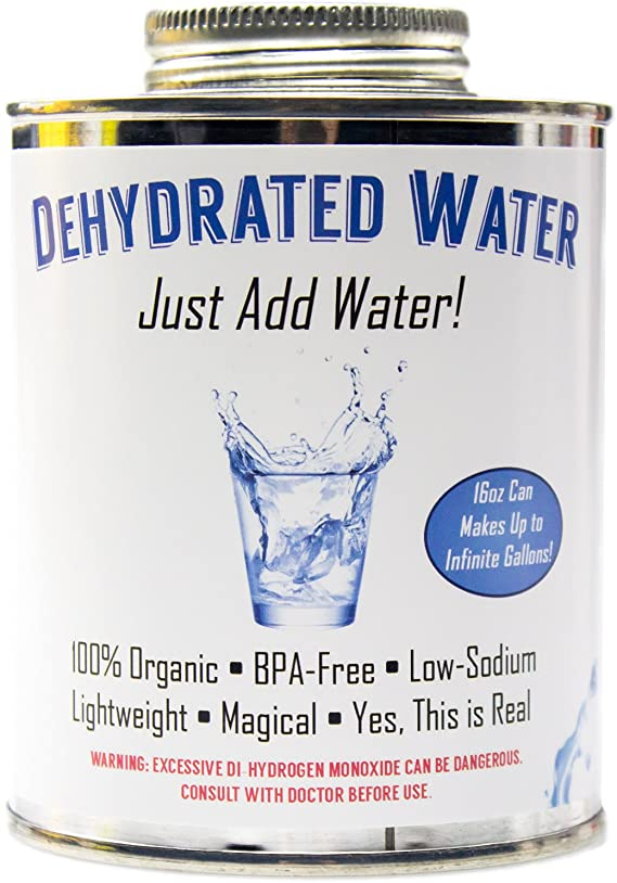 Witty Yetis Dehydrated Water Can